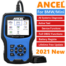 Obd2 Scanner For Bmw Mini All System Diagnostic Abs Epb Battery Registrate Tool