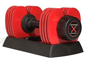 Stamina X 50 lb. Versa-Bell Dumbbell Weight Workout Exercise 05-2150 NEW