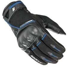 Joe Rocket Super Moto Touch Screen Gloves Black/Blue Mens All Sizes