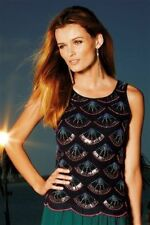 Polyester Scoop Neck Party Tops & Shirts NEXT for Women
