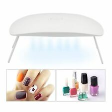 Mini UV Lamp Gel Polish Curing Acrylic Nail Art Drying Dryer Manicure 6 Light UK