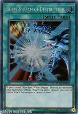 LCKC-EN025 Burst Stream of Destruction Secret Rare 1st Edition Mint YuGiOh Card