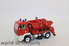 ZZ Siku 2103 Man Skip Loaders Lorries Fire Brigade 1:55 NEW ORIGINAL PACKAGING