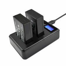2pcs 1500mAh LP-E17 Battery & USB Dual Charger Set for Canon EOS M3 M5 750D 77D