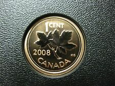 2008 UNC Magnetic Specimen Canadian Penny One Cent - 1 cent coin