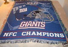 New York Giants NFL Football Blanket Throw by Northwest NEW