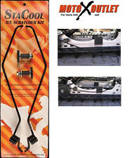 Snowmobile Ice Scratcher Kit StaCool Snow Scratchers Polaris Slide Hyfax Savers