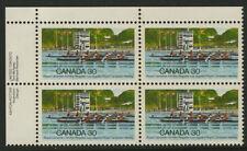 Canada 968 TL Plate Block MNH Royal Canadian Henley Regatta