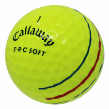 48 Callaway ERC Soft Yellow Poor Quality AA Used Golf Balls *In a Free Bucket!*