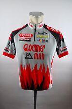 biemme Glockner Man Bike cycling jersey maglia Rad Trikot Gr 3 BW 51cm S2