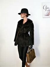 De Colección Bufanda de abrigo de piel de visón real o cinturón норка Vison Sombrero Gratis 8 - 10 - 12