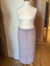 Straight, Pencil Linen No Pattern Plus Size Skirts for Women