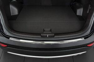 Ladekantenschutz passend für Hyundai Santa Fe 2013-2018 Edelstahl