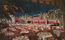 Vintage POSTCARD c1950-60s Cocoanut Grove Ambassador Hotel LOS ANGELES, CA 19392