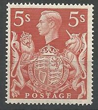 Flags, National Emblems Great Britain George VI Stamps