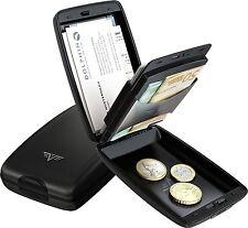 Tru Virtu II Alu Kreditkarten-Etui Geldbörse Portemonnaie Aluminium RFID Top