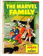 The Marvel Family # 88 VG Golden Age Comic Book Fawcett Captain Shazam JL16