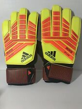 Adidas Predator Replique Senior Goalie Gloves Yellow/Rd/Black Cw5600 Size 10