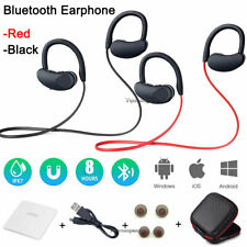 Wireless Bluetooth Sport Gym Headphone Earphones Earbuds Headset with Microphone