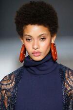 Short Afro Yaki Curly Wigs Brazilian Human Hair Wigs NONE LACE Wigs for Women
