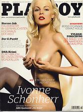 Playboy (deutsch) Nr. 10/2008 Ivonne Schönherr Arina Mahova Bernd Eichinger Z1-2