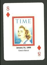 Grace Kelly Movie Film Star Actress T.W. Famous Cover Playing Card