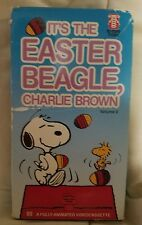 It's The Easter Beagle, Charlie Brown VHS (1988)