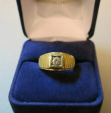 Bague en or et diamant