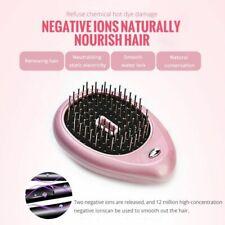 Hair Straightener Brush Electric Tool Negative Ionic Comb Portable Ionic Brush