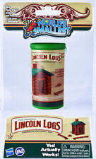 World's Smallest LINCOLN LOGS Miniature Cabin Toy Doll House