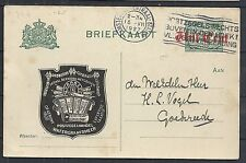 Netherlands covers 1927 private Advertising PC to Goedereede