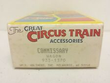 Circus Train Commissary Wagon Kit with Decals Walthers 933-1370