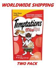 Temptations MixUps Cat Treats Backyard Cookout 3 Oz TWO PACK WORLDWIDE SHIPPING
