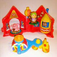 Fisher Price LITTLE PEOPLE Vintage Amusement Park Playset Toys 1998