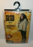 The Walking Dead Michonne's Cloak Hooded Costume Cosplay Spirit Adult OSFM