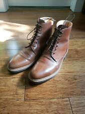 Rider Boot Co. Dundalk Natural Unglazed Shell Cordovan Size 8