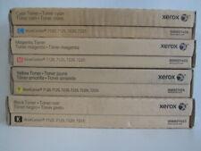Original Xerox Toner Set 006R0145(3,4,5,6) für WorkCentre 7120 7125 7225 OEM