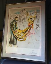 1979 Salvador Dali 157/350 The Kingdom limited ed. signed framed lithograph COA