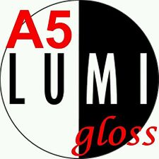 A5 130gsm LUMI GLOSS 2 SIDED PRINTER PAPER X 500 sheet - LASER - DIGITAL - CRAFT