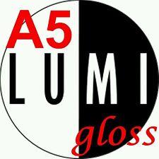 A5 130gsm LUMI GLOSS 2 SIDED PRINTER PAPER X 500 sheet - LASER - DIGITAL - CRAFT