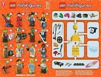 BNIB Lego Series 4 Minifigures - Choose your FACTORY SEALED CMF Mini figure Set