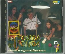 De Fonda En Fonda Musica Aguardientera  Volume 1  Latin Music CD New