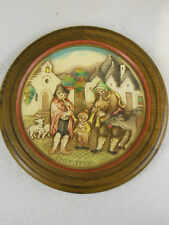 Anri Christmas in Alberobello Collector Plate #3689 vintage 1972