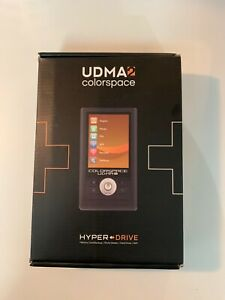 SANHO UDMA2 colorspace hyperdrive memory card backup, photo viewer, hard drive,