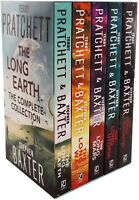Terry Pratchett, Stephen Baxter The Long Earth Complete Collection 5 Books Set