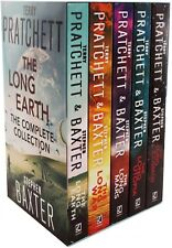 Terry Pratchett Stephen Baxter The Long Earth Complete Collection 5 Books Set