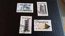 HONG KONG 1985 SG 503-506 Nouveaux bâtiments utilisés