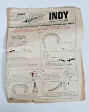 Johnny Lightning Indy 500 Set Part: Instruction Sheet, 4301-0010A