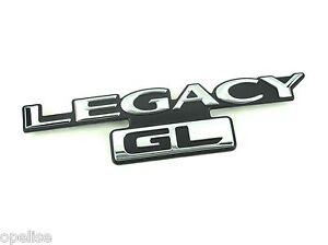 Genuine New SUBARU LEGACY GL BOOT BADGE Emblem III Mk2 1994-1999 AWD Outback