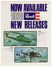 "Vintage Advertising Sales Brochure: ""Now Available: 1968 Revell New Releases"""